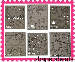 Shapesheets