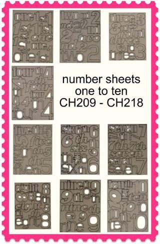 Numbersheets